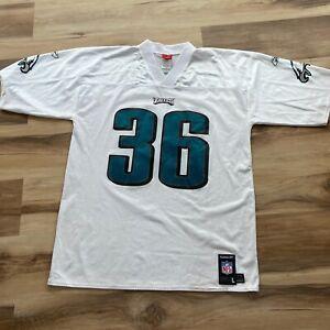 Reebok NFL Brian Westbrook White Philadelphia Eagles Jersey #36 Large