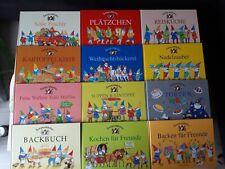 12 x  Zwergenstübchen Kochbuch Backbuch Geburtstag usw. Sehr gut erhalten