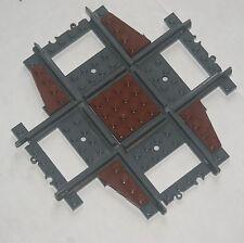 Custom Lego 90 Deg Crossing / Crossover Track (brown) Power Function & RC Train
