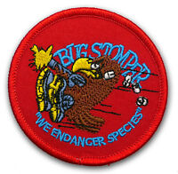 "ALIEN / ALIENS Colonial Marines ""BUG STOMPER"" Species Prop Patch RED VERSION"