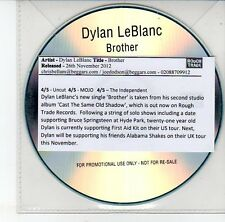 (EG976) Dylan LeBlanc, Brother - 2012 DJ CD