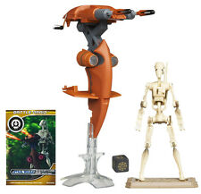 Star Wars Stap Vehicle With Battle Droid Action Figure