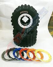 DWT G2 Beadlock Wheels CST Pulse XC Tires Rear Kit Yamaha Raptor 700/660/250/125