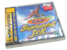 JAPANESE SEGA SATURN GIOCHI Zap! Snowboard TRIX JP JAP Boxed SPINE CARD B NEW