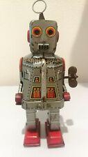Yoshiya KO Sparky Robot 1950's Japan Original Lithograph Wind up Toy Vintage
