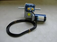 New 24v DC Greenhouse Curtain Motor Dual Shaft for 2x100 foot rollup