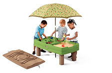 New Outdoor Naturally Playful Sand & Water Activity Center 8-piece Accessory Kit
