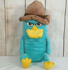 Disney Perry Agent P Platypus Plush 21 Inches Phineas and Ferb Blue Duckbill