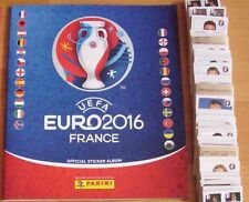 Panini Fußball EM 2016 France 680 Sticker Komplett+Album+Update-Set+24 Coca Cola
