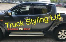 Mitsubishi L200 Wind Window Visors Rain Guards Deflectors All 2006-2015 models