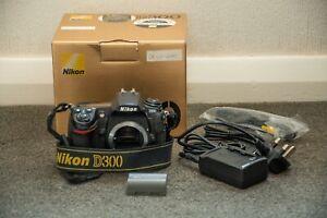 Nikon D300 12.3MP Digital SLR Camera Boxed with 1 battery