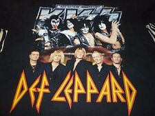 Kiss / Def Leppard Tour Shirt ( Used Size L Missing Tag ) Very Good Condition!!!