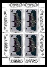 GERMANY - GERMANIA - DDR - 1986 - Castelli - 20 p. - Gustrow - Minifoglio