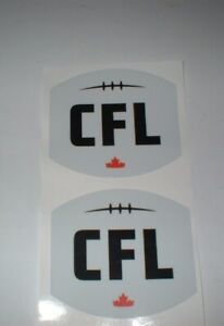 CFL LEAGUE FULL SIZE FOOTBALL DECALS