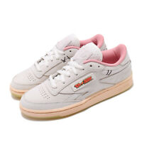 Reebok Club C Revenge MU Tom and Jerry Grey Pink Men Women Unisex Shoes FW4681