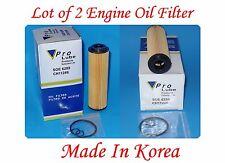 Lot of 2 Engine Oil Filter Fits: Mercedes C250 2012-2015 - SLK250 2012-2015