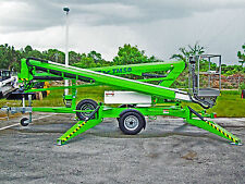 Nifty TM50 Towable Lift,56' Height,2017 Dual Power,All Hydraulic,No Computer