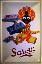 Sarotti Mohr Schokoladen Blechschild Schild Blech Metall Tin Sign 20 x 30 cm