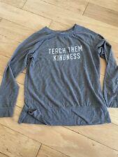 Ingrid Isabel Maternity Women's Grey Teach Them Kindness Sweatshirt Medium