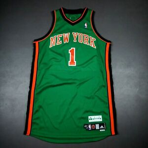 100% Authentic Amare Stoudemire St. Patrick's Day Knicks Game Issued Jersey