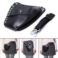 PU Leather Barber Hair Scissor Bag Hairdressing Holster Pouch Holder Case Bag EF