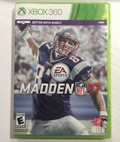 Madden NFL 17 (Microsoft Xbox 360, 2016). TESTED WORKING, NO MANUAL.