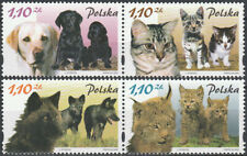 Poland 2002 - Mammals and their young - Fi 3810-3813 MNH**