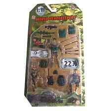World PeaceKeepers Desert Marine Figure 3 Pack Toy Soldiers Figures 3+ Years