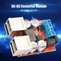 USB Charger 12V 24V 8-35V to 5V 8A DC-DC Buck Step Down Power Supply Converter