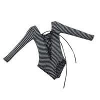 1/6 Scale Female Jumpsuit Bodysuit Women Clothes for 12'' Action Figure Doll