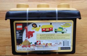 LEGO Creator 4496 | Limited Edition 50th Anniversary Tub | GOLD BRICKS | NEW NIB
