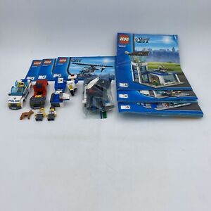 Lego City 60047 Police Station Set incomplete mini figure instructions retired