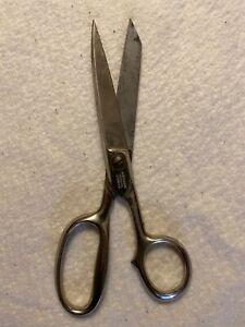 "Vtg  Superior Solingen Germany 7"" Scissors Shears Hot Drop Forged Steel"