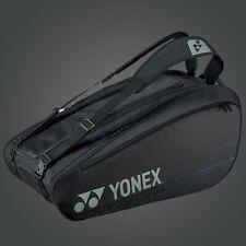 YONEX 9 Tennis/12+ Badminton Racquet Pro Thermal Bag BA92029EX, BLACK, 2020 New