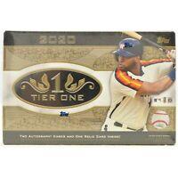 Topps 2020 Tier One Baseball ⚾Random Team⚾ 1 Box Break #3