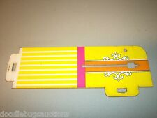 1975 Barbie FASHION PLAZA Doll House Beauty Salon Side Wall Panel Part Piece