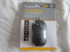 TARGUS USB OPTICAL LAPTOP MOUSE