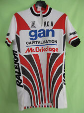 Maillot cycliste VCA Gan Servary Raleigh Mr Bricolage 80'S Vintage  - 2 / S