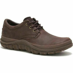 Mens Caterpillar Fused Trio Lace Up Leather Casual Smart Shoes Sizes 7 to 11