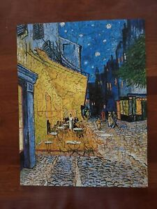 Liberty Jigsaw Puzzle Cafe Terrace on the Place du Forum by Van Gogh 206 pieces