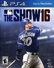 MLB: The Show 16 - Sony Playstation 4 Game - Complete