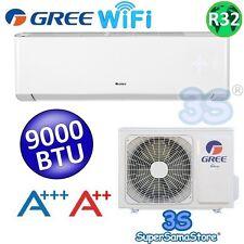 3S CLIMATIZZATORE 9000 BTU GREE AMBER CLASSE A+++ GAS R32 con FUNZIONE WI-FI New