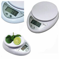 5KG Digital Weighing LCD Electronic Kitchen Household Scale Food Cooking FE