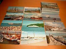 85 Ansichtskarten Schiffe - Schifffahrt - AK Sammlung - Postkarten Konvolut