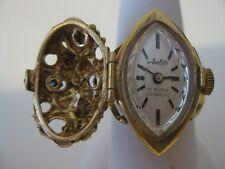 Vintage 50's Arctos Cocktail Ring Watch - German - 17 Rubis Incabloc