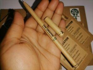 eco friendly plantable pen 6 pack pen bolpoint pen