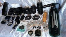 A saisir  ! CANON EOS 600D TBE + très nombreux accessoires + Etui neuf XL offert