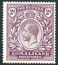 SOMALILAND-1921 2r Dull Purple & Purple Sg 83 MOUNTED MINT V25874