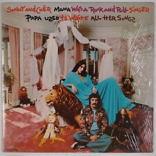 SONNY AND CHER: Mama Was A Rock and Roll Singer SHRINK USA Pop Vinyl LP NM-