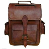 Leather Backpack Rucksack Vintage Bag Leather Handmade Vintage Style College Bag